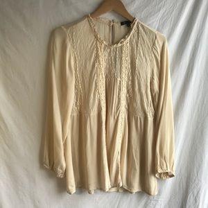 15 Fifteen Rayon Lace Shirt
